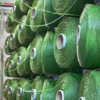 grass manufacturer, grass factory, synthetic, artificial, sports grass, sports turf production, sports turf manufacturing, yarn,