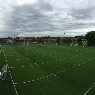 white lines, Leigh sports village, full construction, commercial use, synthetic, artificial, hybrid, natural
