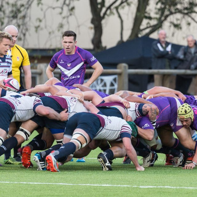 Synthetic, sisturf, grass, artificial pitch, field, Loughborough University, scrum