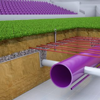 SISAir Root Growth System, technology, advance, infill, sand, artificial turf, synthetic turf