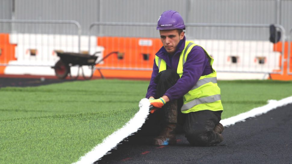 Synthetic, sisturf, grass, artificial pitch, field