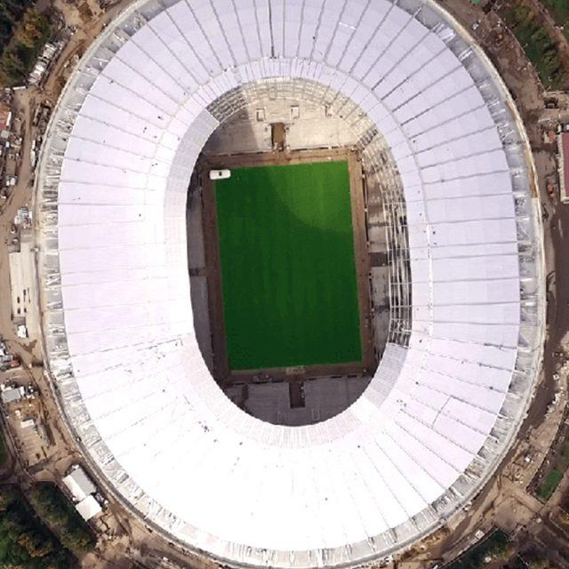 SISGrass, Hybrid pitch, grass, reinforced grass, hybrid technology, Luzhniki 2016 world cup