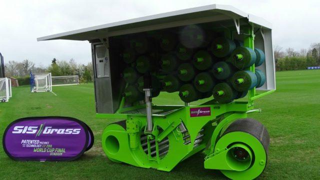 Hybrid Turf, SISGrass, SISGrass universal, football, reinforced turf system