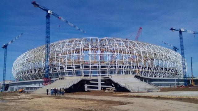 Mordovia Saransk Arena, hybrid, pitch, turf, SISGrass,