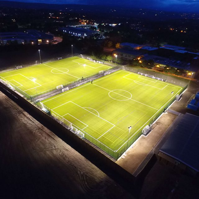 Graves Football Hub, football pitch, sis pitches, artificial turf, synthetic grass