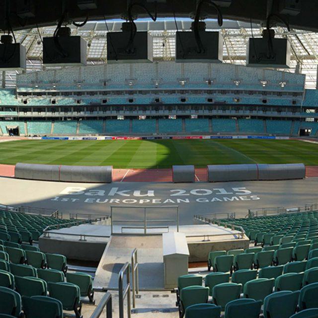 Baku Olimpic 2016, natural turf pitch, sis pitches,