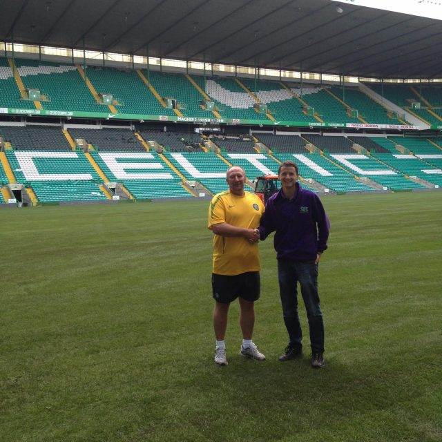 Celtic Park 2014, natural turf pitch, sis pitches,