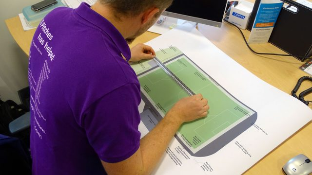 Design and project management for SIS pitches, synthetic pitch, artificial turf,