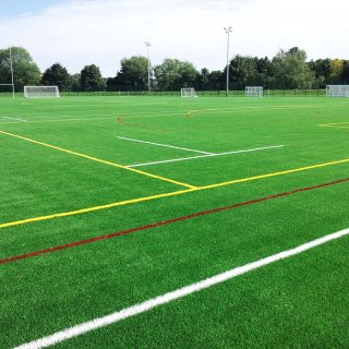 Durham University 2013, synthetic turf, artificial pitch, muga, yellow lines, red lines, sis pitches