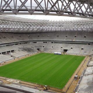 Luzhniki 2018 World Cup Final Stadium, football pitch, sisgrass, hybrid pitch