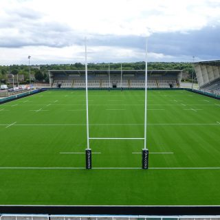 Newcastle Falcons 2014, rugby pitch, synthetic turf, artificial pitch, sis pitches