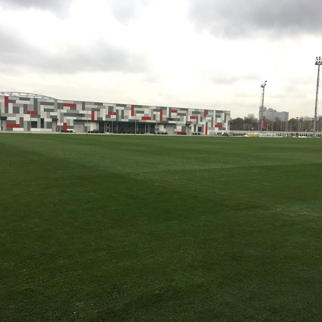 Spartac Moscow Training Pitch 2016, natural turf pitch, sis pitches,