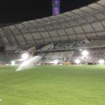 Qatar's Khalifa International Stadium, Amsterdam arena, FIFA 2022 World Cup in Qatar, SIS Pitches