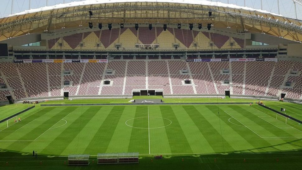 New World Record Set In Returfing Of 2022 World Football Cup Qatar