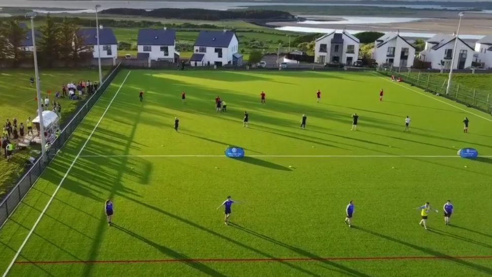 sligo rugby club, world rugby approved synthetic pitch, sisturf, hamilton park, artificial rugby pitch