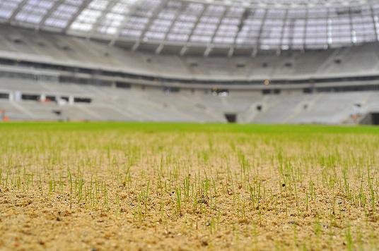 Rootzone and Seeding Luzhniki