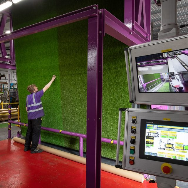 artificial turf manufacturing