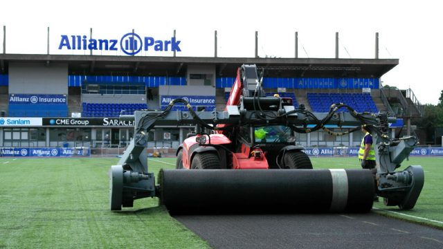 pitch resurfacing, remove old surface, easy resurface, synthetic, artificial, natural, hybrid, recyclable materials,