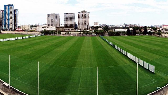 Neftchi Training Center, Ismat Gayibov Stadium, SIS Pitches, Natural turf, football pitch