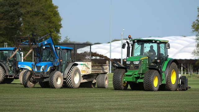 pitch renovation, home of FA ,St George's Park, SIS Pitches, SISGrass, synthetic turf, artificial pitch