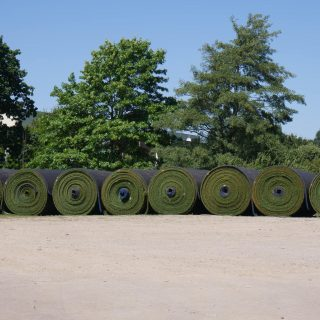 rolls of turf, pitch resurfacing, remove old surface, easy resurface, synthetic, artificial, natural, hybrid, recyclable materials,