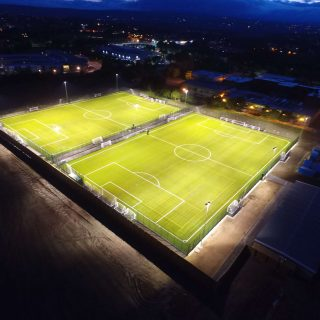 pitch lighting, 3 Graves Football Hub SISTurf, 3G pitch, turf, fifa quality,