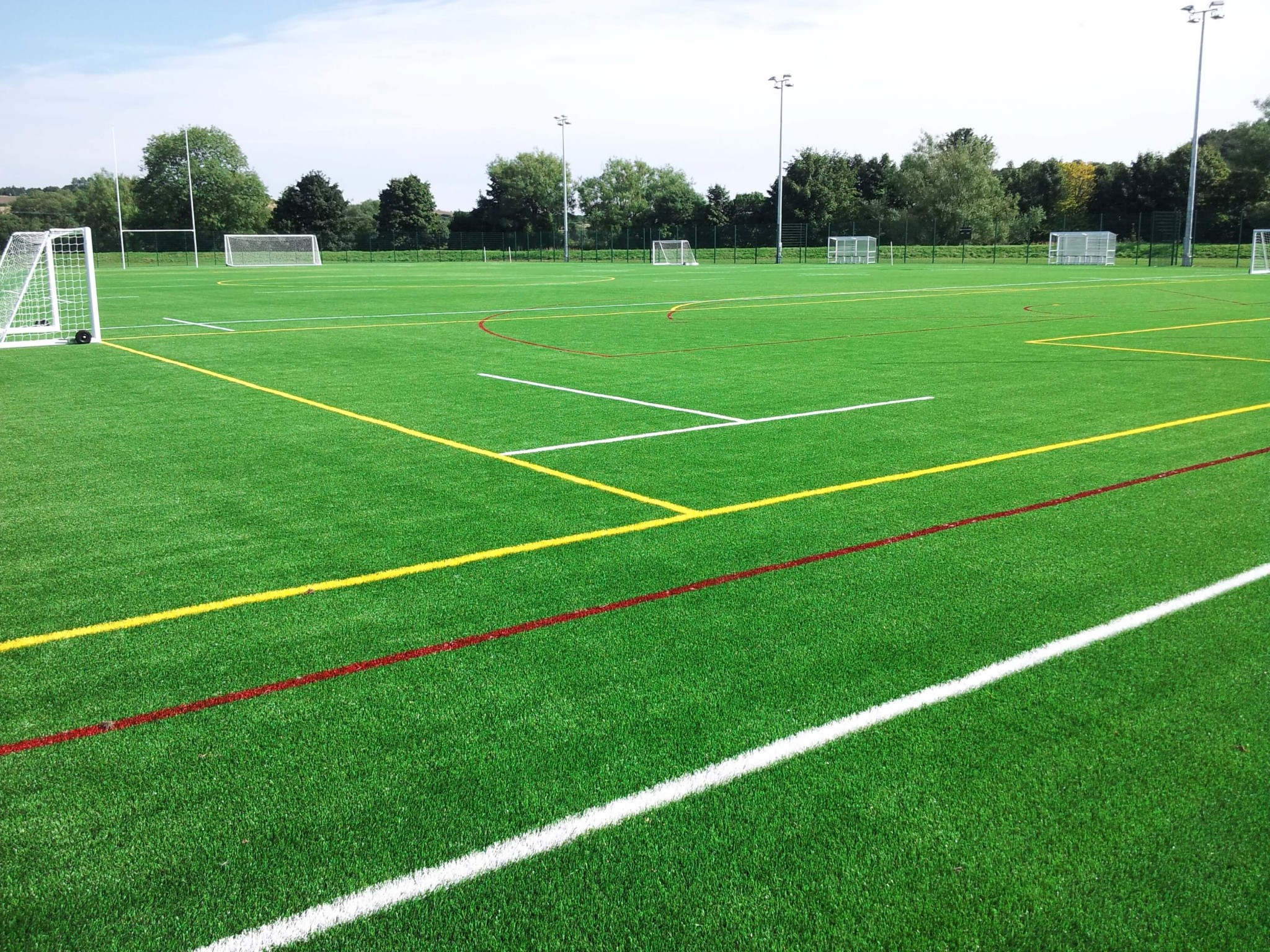 How Long Is A Football Pitch >> School, College & University Sport Pitches   SIS Pitches