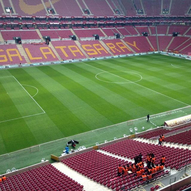 Galatasaray, Natural turf, pitch, grass, sports