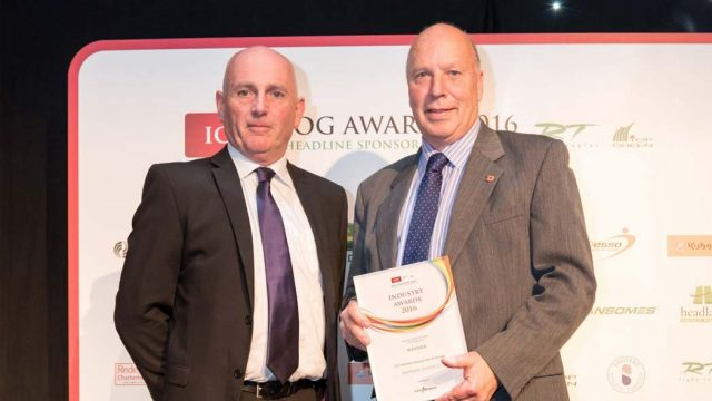 IOG award, GRAYSHOTT'S VOLUNTEER CRICKET GROUNDSMAN, unsung hero, SISGrass, Bryn Lee
