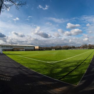 pitch surrounds, Peter May sports centre, full construction, commercial use, synthetic, artificial, hybrid, natural