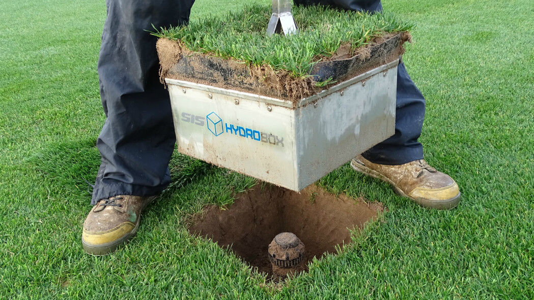 SIS HydroBox System for Pop-up Sprinklers & Pitch Watering