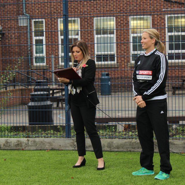 Flixton girls school, Rachel Brown-Finnis, SISTurf, Artificial turf, synthetic grass