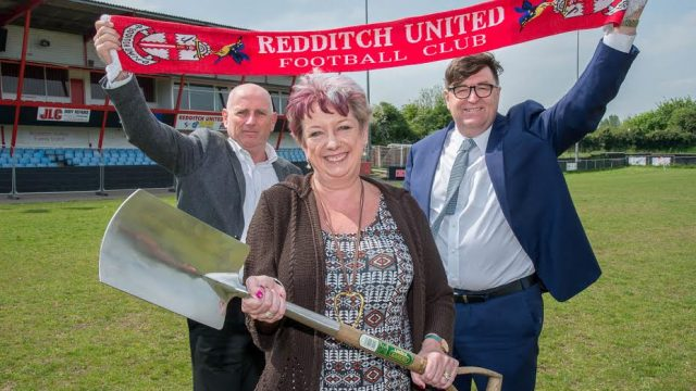 Redditch United, Valley stadium, 3G Pitch, Artificial turf, synthetic pitch, Bryn Lee