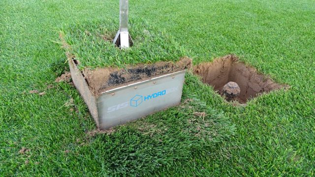 SIS hydrobox, irrigation system, water grass, sprinkler, automatic
