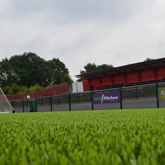 Redditch United, 3G synthetic pitch, Valley stadium, SISTurf, Artificial grass, Bryn Lee