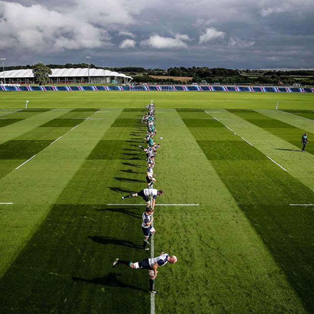 SISGrass, Hybrid pitch, grass, reinforced grass, hybrid technology, St Georges Park