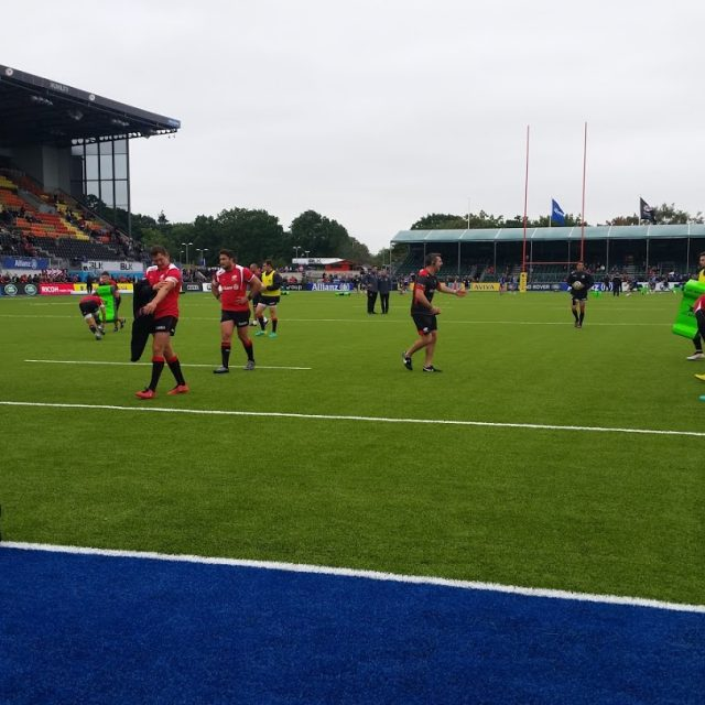 SIS PItches, Allianz Park, heaviest synthetic pitch, artificial turf, rugby pitch, recycled infill, coloured turf, blue synthetic