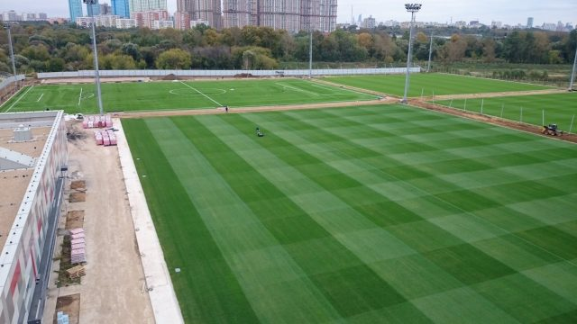 Spartak, Moscow, synthetic pitch, artificial turf, natural turf pitch