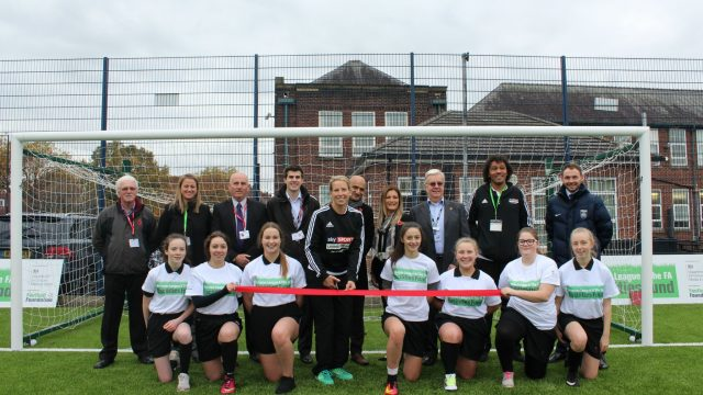 Flixton girls school, Rachel Brown-Finnis, SISTurf, Artificial turf, synthetic grass