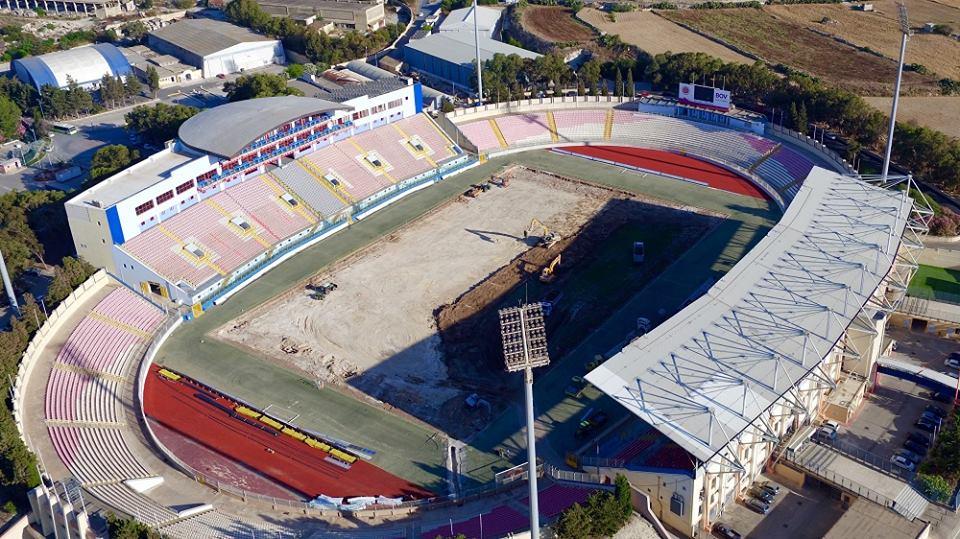 Ta'Qali National Stadium In Malta With New SISGrass Hybrid