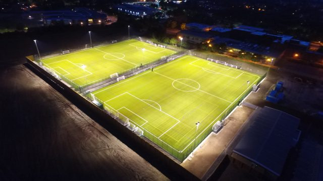 Graves football hub, Sheffield football, FA, grassroots football, 3G synthetic pitch, artificial grass