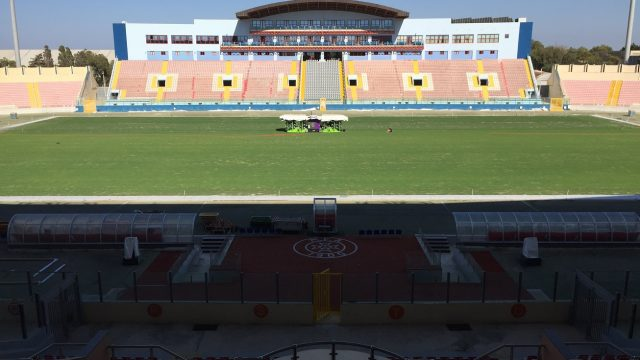 TA'QALI NATIONAL STADIUM IN MALTA, SISGrass hybrid pitch, Maltese Premier league, SISGrass, hybrid technology, football pitch