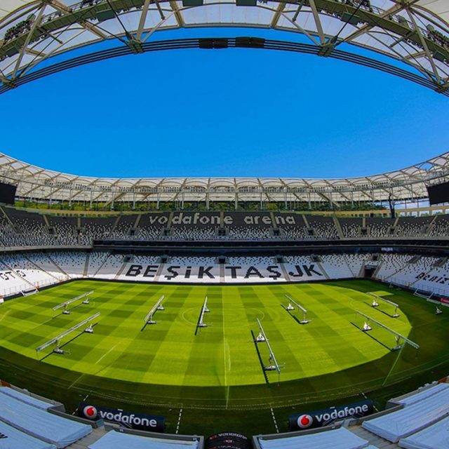 SISGrass, Hybrid pitch, grass, reinforced grass, hybrid technology, Besiktas