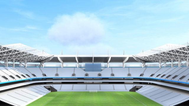 Baltic Arena, Kaliningrad, SISGrass, Stadium, Football pitch, Hybrid turf