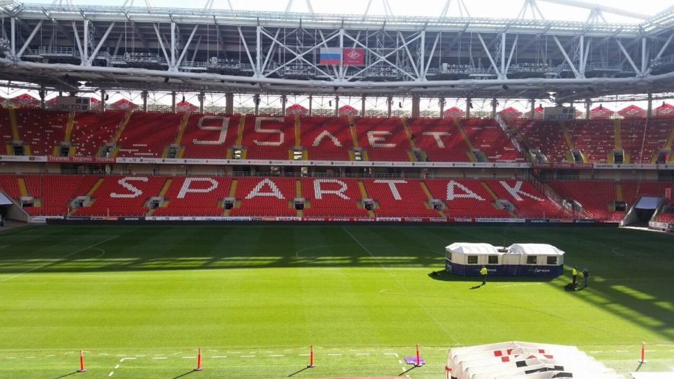 SISGrass, SIS Pitches, Hybrid turf, Spartak