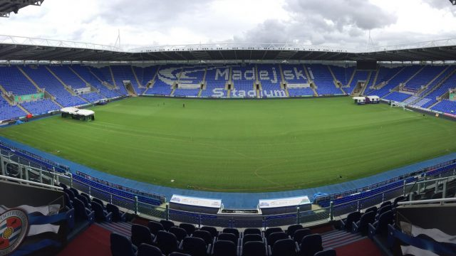 Reading Madejski SISGrass hybrid pitch