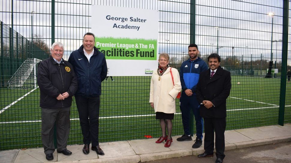 George Salter Academy benefits from SISTurf