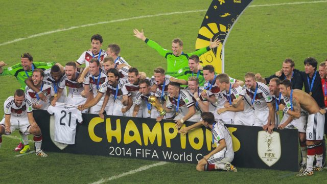 Germany won the World Cup in 2014
