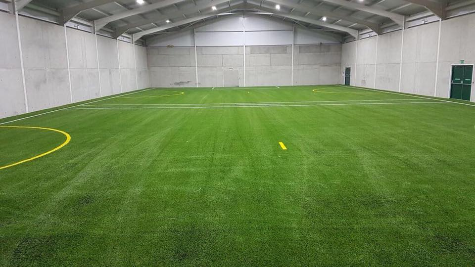 Indoor pitch at Blackwater GAA training facilities