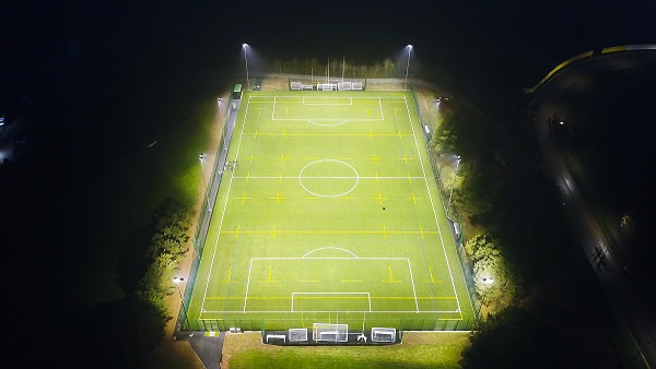 Aerial shot of Warwick Uni